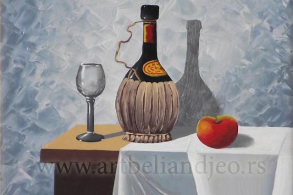 Sinđelić Gradimir, Tehnika: ulje na platnu, Šifra slike: 8768, Format: 24 x 29