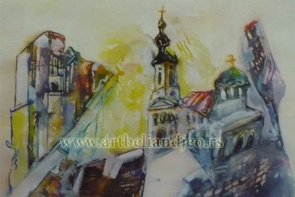 akvarel
