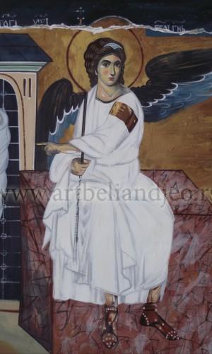 04. Beli Anđeo - ulje na platnu