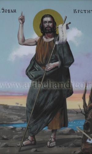 14. Sv. Jovan Krstitelj - ulje na platnu