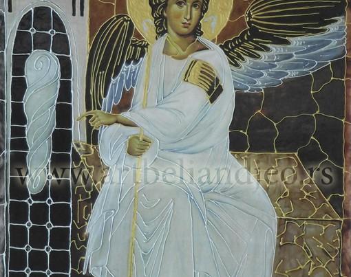 Beli Anđeo - vitrokolaž