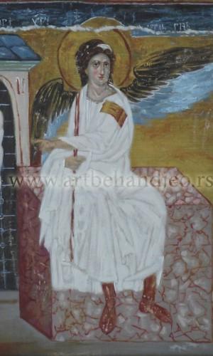 13. Beli Anđeo - ulje na platnu