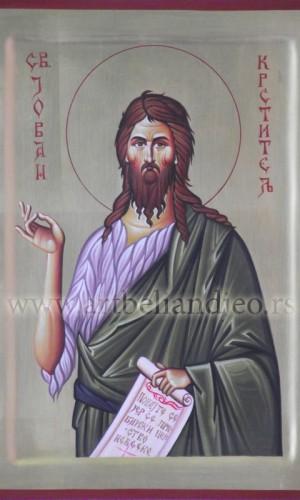 06. Sv. Jovan Krstitelj - na lipovoj dasci