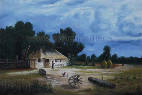 Sinđelić Gradimir, Tehnika: ulje na platnu, Šifra slike: 8758, Format: 70 x 50