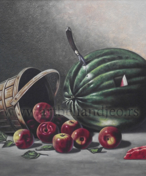 Radovanović Predrag Peđa, Tehnika: ulje na platnu, Šifra slike: 4752, Format: 60 x 50