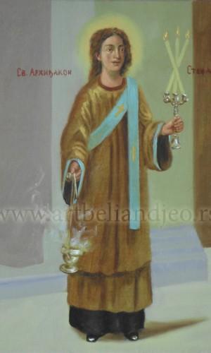 07. Sv. Arhiđakon Stefan - ulje na platnu