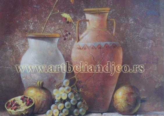 Nikolic Miroslav, Tehnika: pastel, Šifra slike: 242, Format: 50 x 70